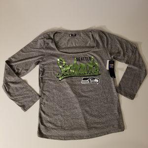 NFL Seattle Seahawks Women's Long Sleeve TShirt XL